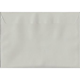 Frans grijs Peel/Seal C5/A5 grijs gekleurde enveloppen. 120gsm luxe FSC gecertificeerd papier. 162 mm x 229 mm. portemonnee stijl envelop.