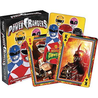Playing Card - Power Rangers - Poker New 52564