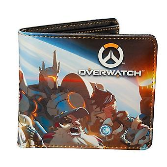 Wallet - Overwatch - Team Planet View Group Bi-Fold j6236