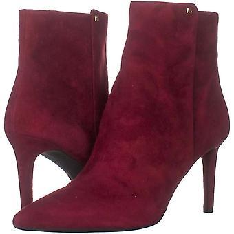 مايكل كورس المرأة دوروثي فليكس الجلود وأشار الأحذية أزياء الكاحل القدمين