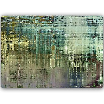Metalen print, abstract 1