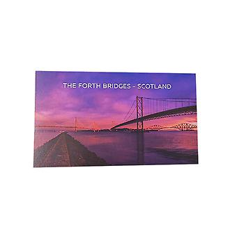 Postcard Sunrise by The Forth Bridges