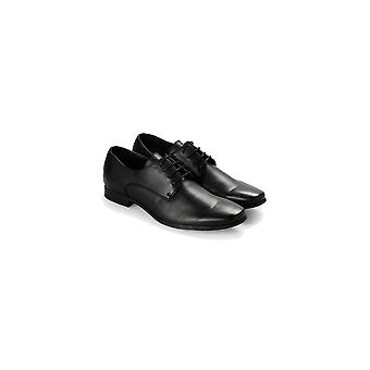 Steve Madden Mens Ulrich Leather Lace Up Dress Oxfords
