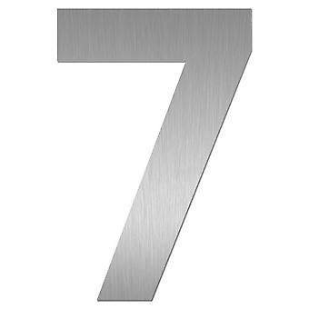 Nathan house number MIDI 7 stainless steel 64477-072