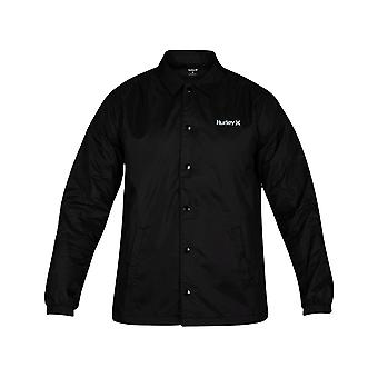 Hurley Siege Coaches Jacket in Black