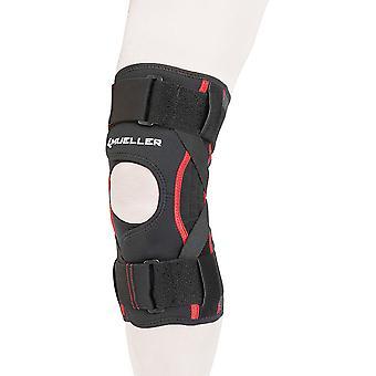 Mueller Omniforce Adjustable Knee Stabilizer Brace - Black