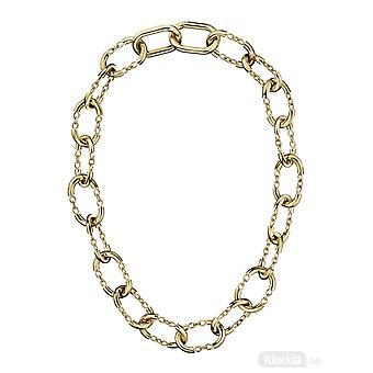 Calvin Klein KJ9ZJN100100 Dangle Gold Tone Stainless Steel Necklace