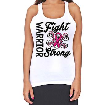 Junior-apos;s Dri Fit Warriors Lutte strong Breast Cancer Support T-Back Tank Top