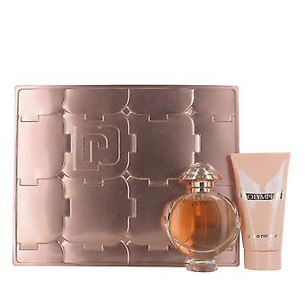 Paco Rabanne Olympea 50ml Eau de Parfum and 75ml Body Lotion Gift Set for Women