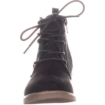 Style & Co. Womens Riziof Leather Closed Toe Ankle Fashion Boots