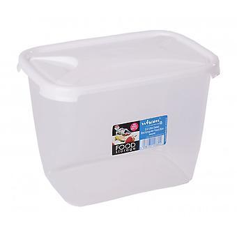 Wham Armazenamento 3,2 litros de profundidade retangular Cozinha Recipiente de alimentos de plástico