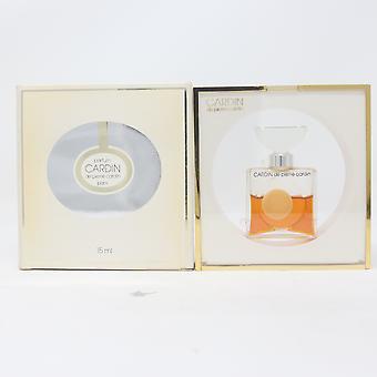 Cardin De Pierre Cardin Parfum/Profumo (Riempimento basso 50%) 5 once/15ml Splash Vinatage