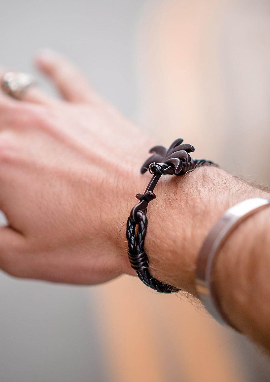 Palm Band Bracelet - Pitch Black - Limited ED.