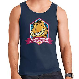 Garfield A Smiling Cat You Can Never Trust Men's Vest