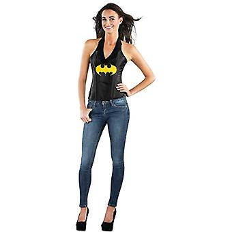 Adult Womens Sexy DC Batgirl Faux Leather Corset Costume Accessory Medium 8-1...