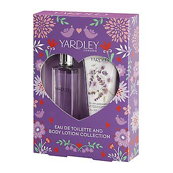 Yardley English lavendel gift set 50ml EDT + 50ml kroppslotion