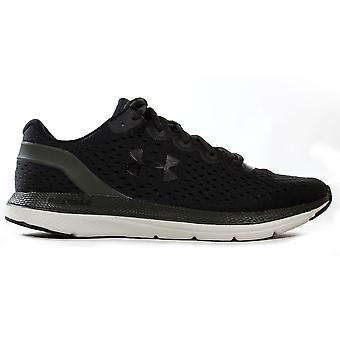 Under Armour Charged Impulse Mens Running Training Trainer Green/Black