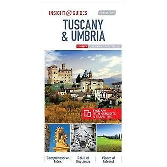 Insight Guides Travel Map Tuscany  Umbria