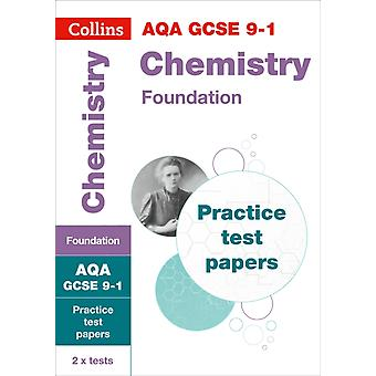GCSE Chemistry Foundation AQA Practice Test Papers