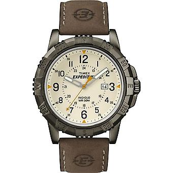 Timex Expedition Watch con quadrante analogico digitale Display - marrone (T49990)