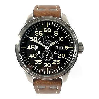 Zeno-Watch - Relógio de Pulso - Homens - OS Pilot Observer Automatic - 8595OB-6-a1