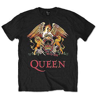 המלכה קרסט הלוגו פרדי מרקורי רוק הרשמי T-חולצת