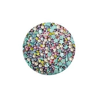 Paarse cupcakes zeemeermin mix-100g