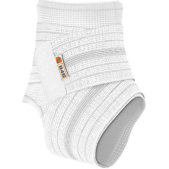 Shock Doctor Ankle Sleeve with Compression Wrap Support - White