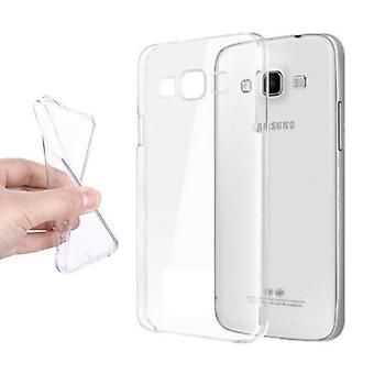 Stuff Certified® Samsung Galaxy A7 2016 läpinäkyvä kirkas silikoni kotelo kotelo TPU tapauksessa