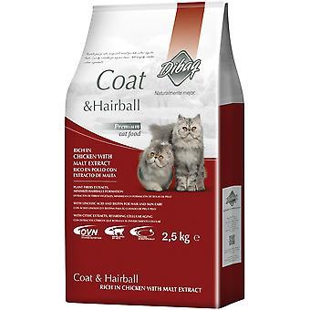 Dibaq Pienso para Gatos Dnm Coat-Hairball (Gatos , Comida , Pienso)