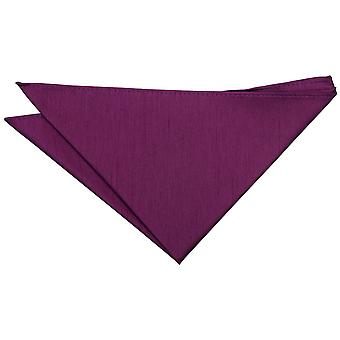 Orchidee Plain Shantung Pocket Square