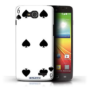 STUFF4 Case/Cover for LG L90 Dual/D410/6 of Spades/Playing Cards