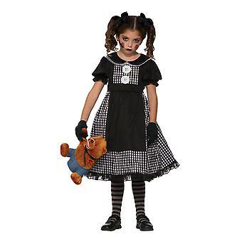 Bristol Neuheit Mädchen Rag Puppe Kostüm