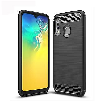 Stødsikker TPU shell til Samsung Galaxy A20E