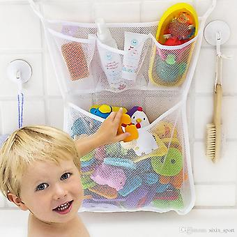 Bathtub Toy Net - Toy Organiser For The Bath - Keep All Toys And Toiletries Nice And Tidy - Strong Adhesive Holds Up To 2.2 Kg!