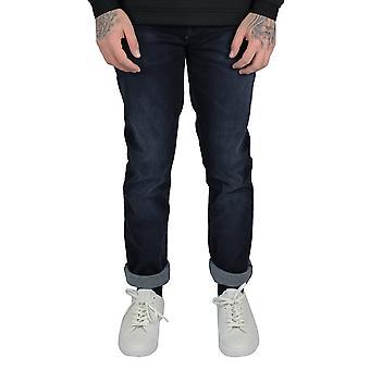 Hugo boss delaware men's dark blue jeans