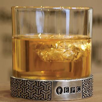 Symetrix  Pewter Whisky Glass Single Tumbler 11oz