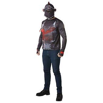 Rubie's Fortnite Black Knight Adult Costume Top & Mask