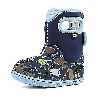 Baby bogs woodland blue thermal waterproof boots