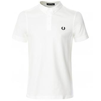Fred Perry Button Down Polo Shirt M8543 129