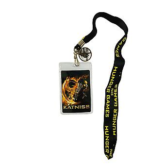 Hunger Games Catching Fire District 12 Katniss Design Lanyard
