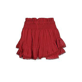 Isabel Marant ÉToile Sh031820p031e11ru Women's Burgundy Cotton Shorts