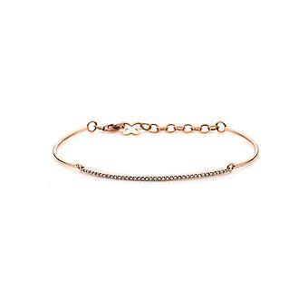 Diamantarmband Armband - 0k - Rotgold - 0.24 ct. - 5A082R8-11