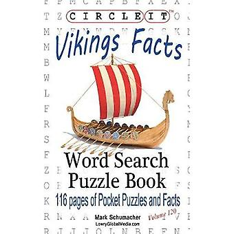 Circle It Vikings Facts Word Search Puzzle Book by Lowry Global Media LLC