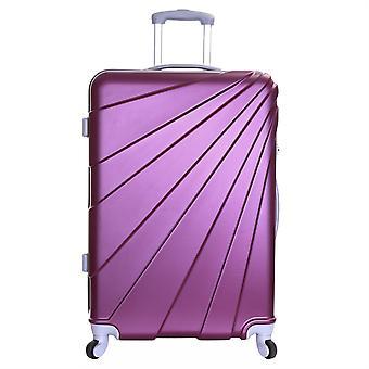 Slimbridge Fusion grosse valise dur, prune