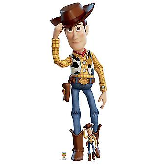 Woody Tipping Hat Official Disney Toy Story 4 Lifesize Cardboard Cutout / Standee