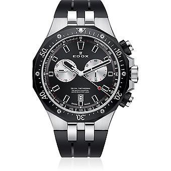 Edox - Wristwatch - Men - Dolphin - Chronograph - 10109 357NCA NINRO