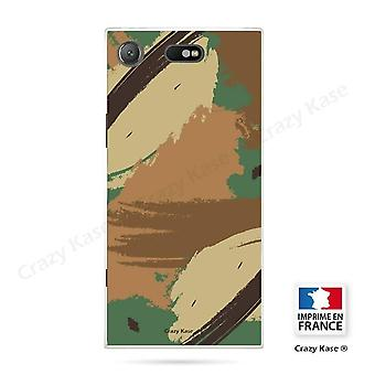 Hull For Sony Xperia Xz1 Compact Soft Pattern Camouflage
