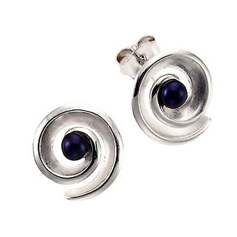 ZEEme 27322044-1 - Unisex lobe earrings - silver sterling 925