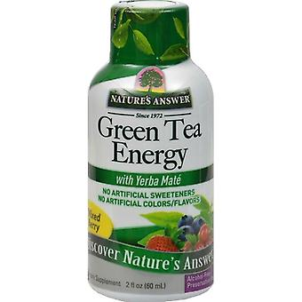 Nature's Answer Natural Green Tea Energy 60ml 1600